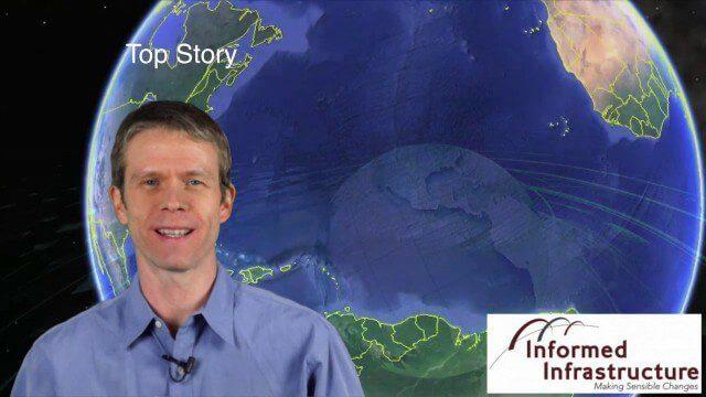 Las Vegas Broadcast 12_2 (Autodesk University, UAV economic impact, Great Barrier Reef map, ancient maps and more)