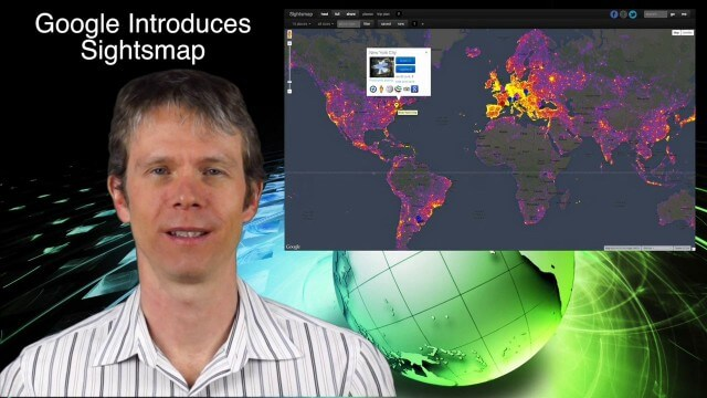 1_23 Commercial Satellite Broadcast (Google Sightsmap, Road Safety Map, Rhino Poaching and More)