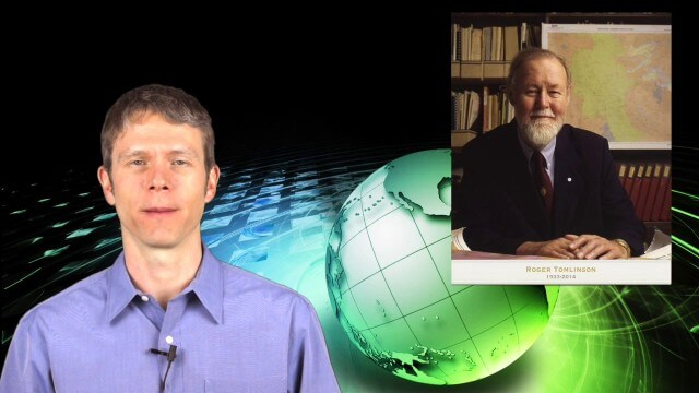 2_12 Roger Tomlinson Broadcast (GeoDesign Summit, Tomlinson Tribute, Landsat 8 and More)