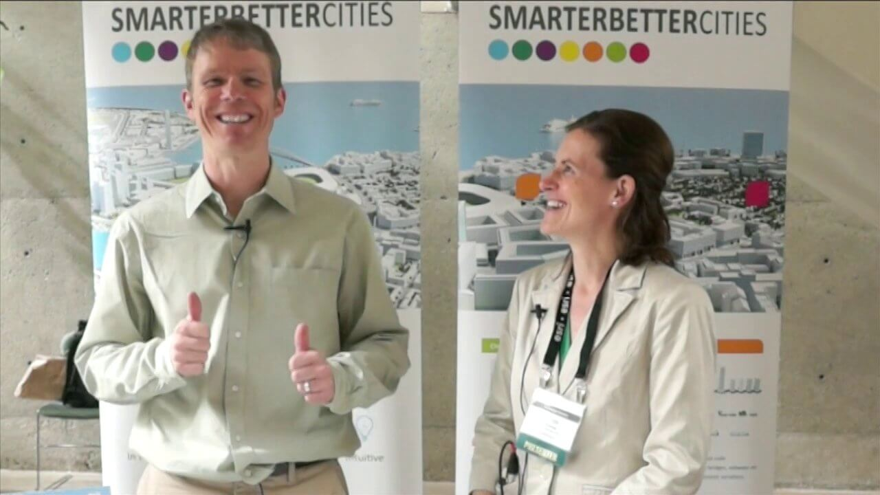 SmarterBetterCities Interview at GeoDesign Summit