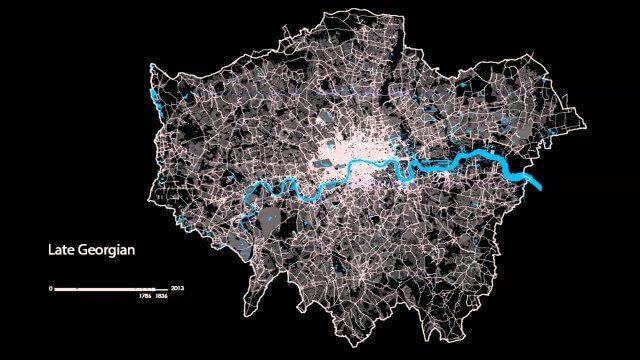 The London Evolution Animation