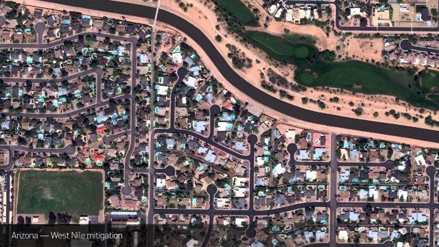 Satellite Imagery to Catch Environmental Changes