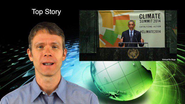 10_2 Climate Change Broadcast (UN Climate Summit, Tsunami Evacuation Maps and More)