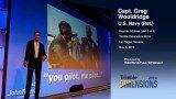 Blue Angels Pilot Delivers Dimensions Keynote (3 of 3)
