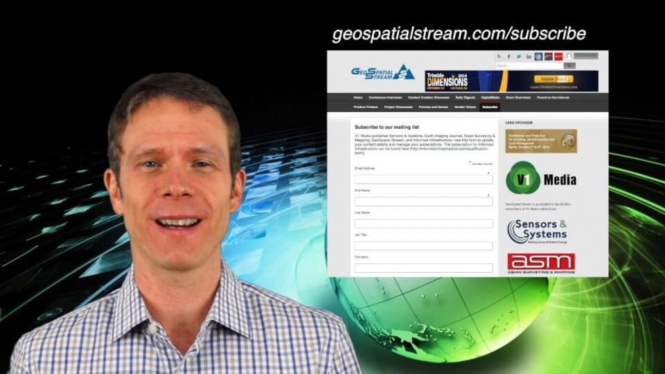 1_15 Infrastructure Broadcast (Geodesign Summit, Road Maintenance and More)