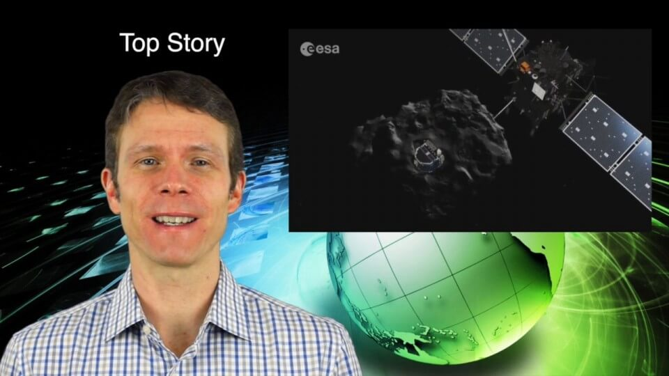 2_5 Earth Imaging Broadcast (Rosetta Mission, QuickBird Retires and More)