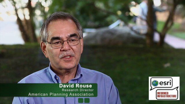 David Rouse Discusses Sustainable Places at the Geodesign Summit