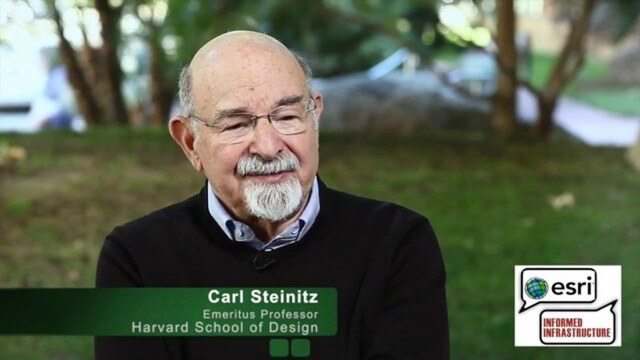 Carl Steinitz Discusses Increased Dangers and Urgency at the Geodesign Summit