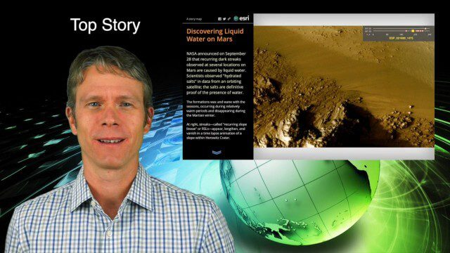 10_1 Science Broadcast (Mars Water, Neutrino and Tree Maps, and More)