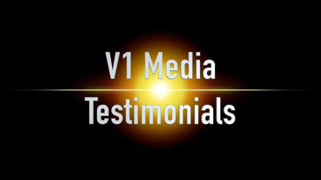 V1 Media Testimonials