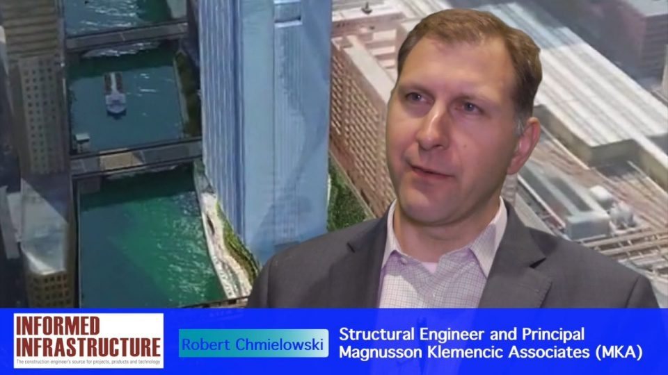 Structural Engineering of Chicago's 150 N. Riverside Building