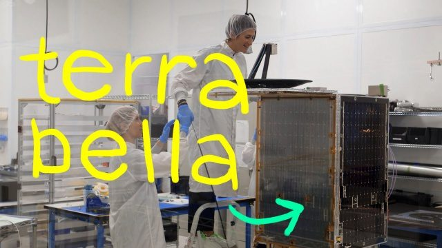 Terra Bella, Google's Satellite Startup