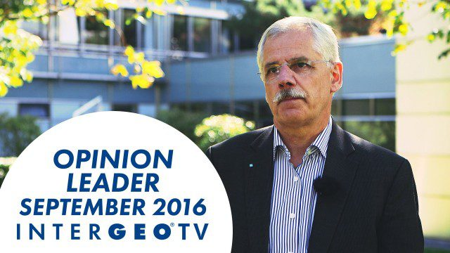 Dr. Joachim Rix – INTERGEO Opinion Leader Talk