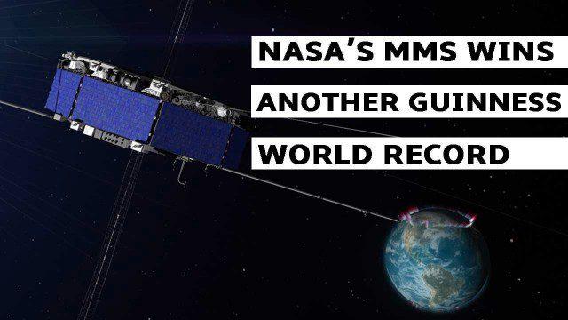 NASA's MMS Satellite Breaks World GPS Record