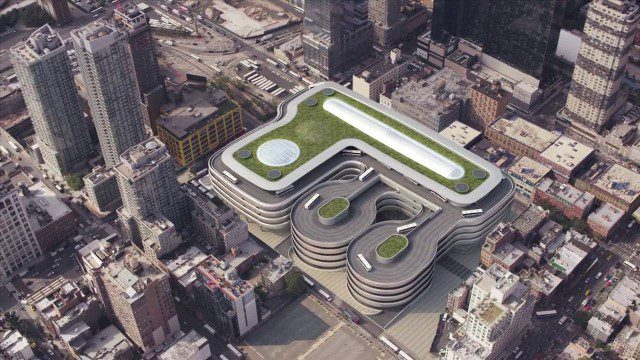 Proposed Bus Terminal in NYC