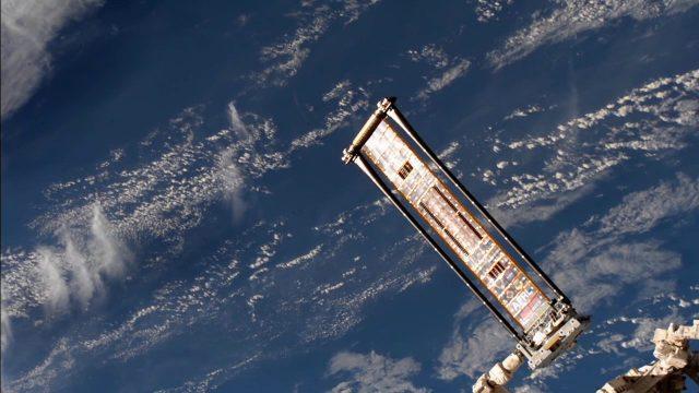 ROSA Deploys on International Space Station