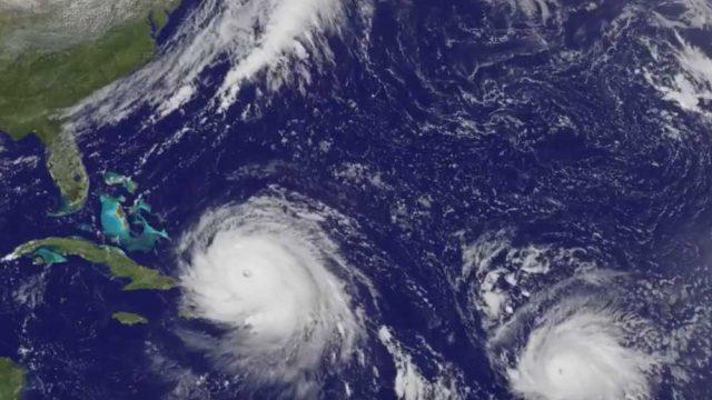 Satellite Animation Sees Hurricanes Katia, Irma and Jose