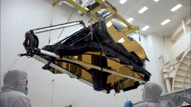 NASA's James Webb Space Telescope Arrives