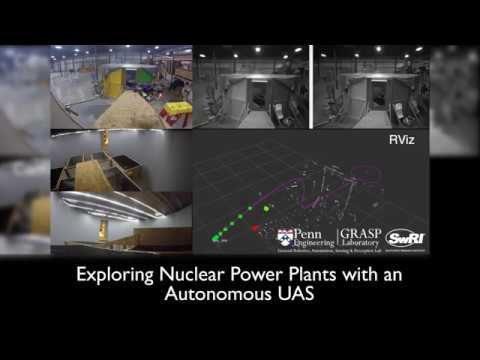 Exploring Nuclear Power Plants via UAS