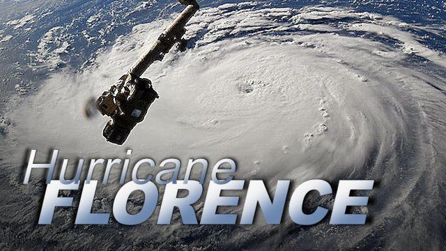 Dramatic Views of Hurricane Florence