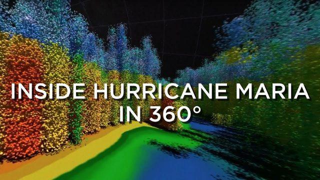 Inside Hurricane Maria in 360°