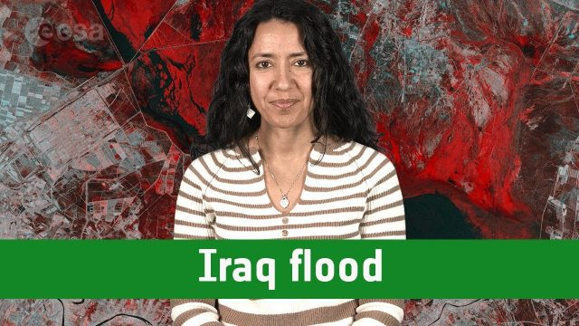 Earth from Space: Iraq Flood
