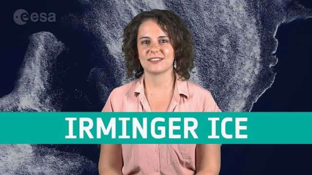 Earth from Space: Irminger Sea Ice Swirl