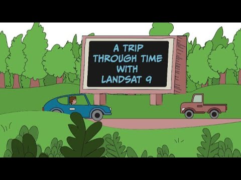 A Trip Through Time With Landsat 9